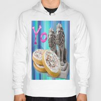 cookies Hoodies featuring COOKIES! by Aldo Couture