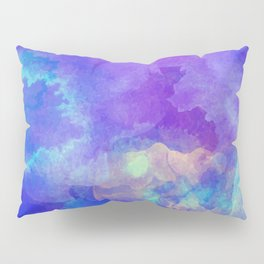 Watercolor abstract art Pillow Sham