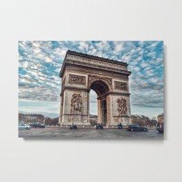 Arc De Triomphe - Paris Metal Print