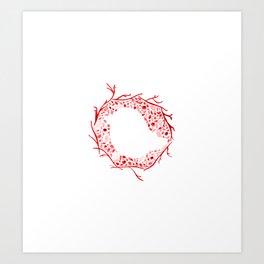 Little Bird Nest Art Print