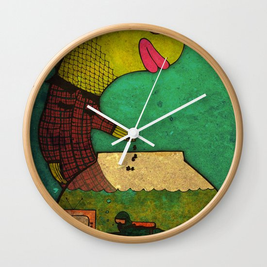 one lost soul Wall Clock