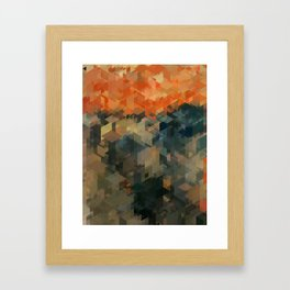 Panelscape Iconic - The Scream Framed Art Print