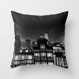 Crooked Rennes Throw Pillow