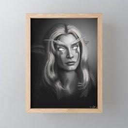 Moonpriestess Mayleaf Framed Mini Art Print