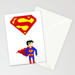 Clark kent Stationery Cards