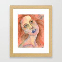 Anna Sun Framed Art Print