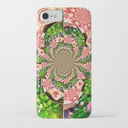 Rose Petal Mandala iPhone Case