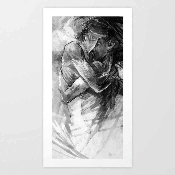 Lovers no.1 Kunstdrucke