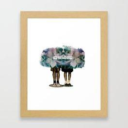 TWINS// Framed Art Print