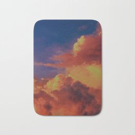 Above The Clouds Bath Mat