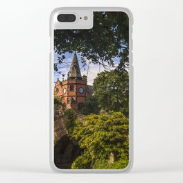 Port Sunlight Village in Summer Clear iPhone Case