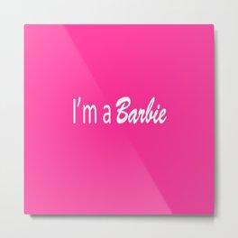 Barbie Metal Print