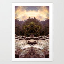 Kaleidoscape: Xela Art Print