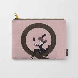 Queena & Gill Sans Carry-All Pouch