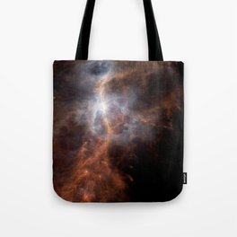 the hunter becomes fire | space #08 Tote Bag