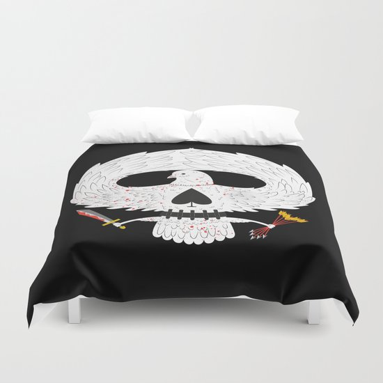 Dove of Death Duvet Cover