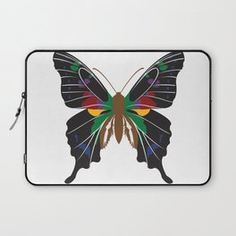 Rainbow Butterfly Laptop Sleeve