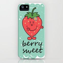 Berry Sweet iPhone Case