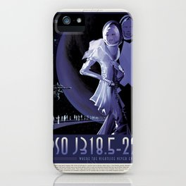 PSO J318.5-22 - NASA Space Travel Poster iPhone Case