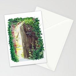 Secret Garden Window Stationery Cards