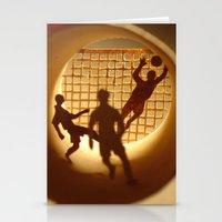 football Stationery Cards featuring Football by Anastassia Elias