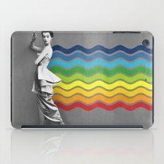 Lady rainbow iPad Case
