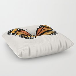 Monarch Butterfly Floor Pillow