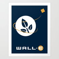 wall e Art Prints featuring Wall • E by Citron Vert