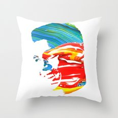Float like a butterfly, sting like a bee! - Ali Throw Pillow