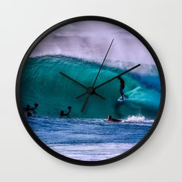 Wave Series Photograph No. 19 - Inside the Wave Wall Clock