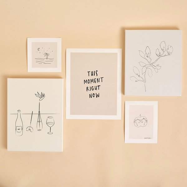 art prints of black and white line drawings