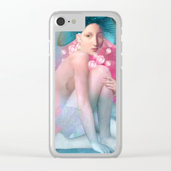 Water Maiden Clear iPhone Case