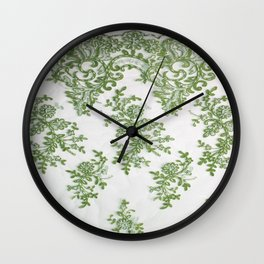 Grandmother's treasures Wall Clock