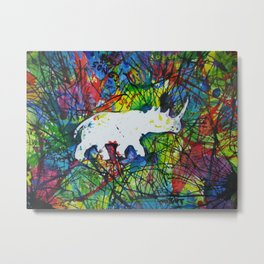 rhinocerish Metal Print