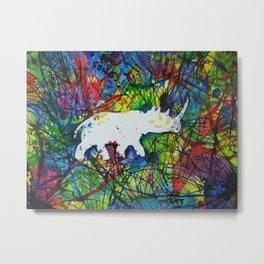rhinocerish Metal Print