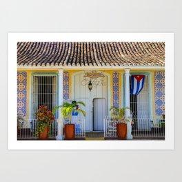 Restaurante de Trinidad Art Print