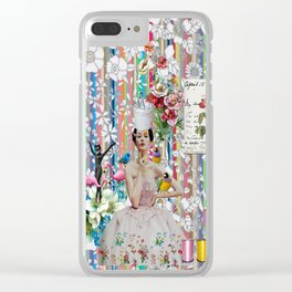 Dear Liza Clear iPhone Case