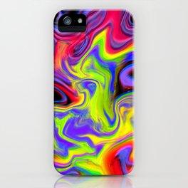 Colour hallucination iPhone Case