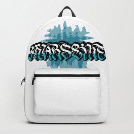 Marseille (Blue background) Backpack