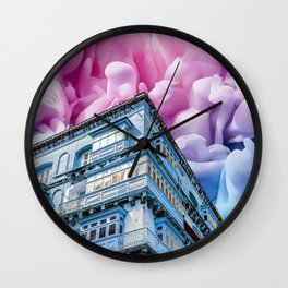 Fireworks in Valletta Wall Clock