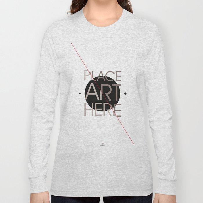 The Art Placeholder Long Sleeve T-shirt