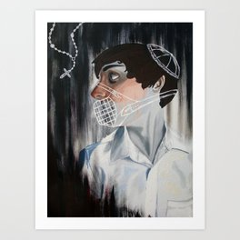 Muzzled Art Print
