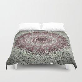 Antique Lace Mandala Duvet Cover
