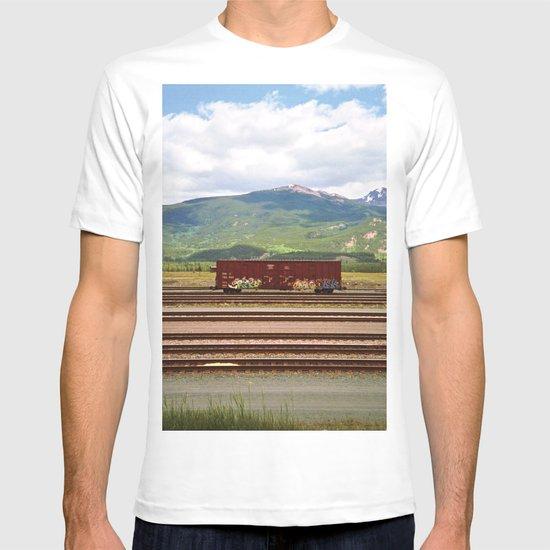 Train Car. T-shirt