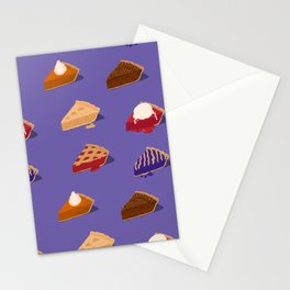 Delicious Hot Pies Stationery Cards