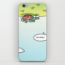 I am flying iPhone Skin