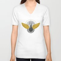 alchemy V-neck T-shirts featuring Alchemy by ChunkyDesign