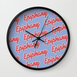 Epiphany Wall Clock