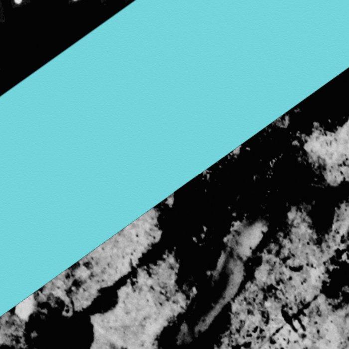 Bits N Pieces III - Abstract, geomtric, random, textured, stripes, black, pink, cyan, artwork Leggings