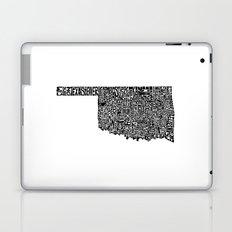 Typographic Oklahoma Laptop & iPad Skin